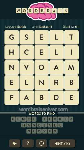WORDBRAIN-ELEPHANT-LEVEL-8