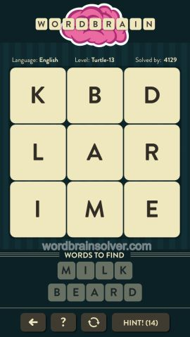 WORDBRAIN-TURTLE-LEVEL-13