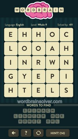 WORDBRAIN-WHALE-LEVEL-9