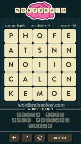 WORDBRAIN-SQUIRREL-LEVEL-19