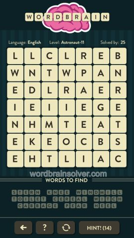 WORDBRAIN-ASTRONAUT-LEVEL-11