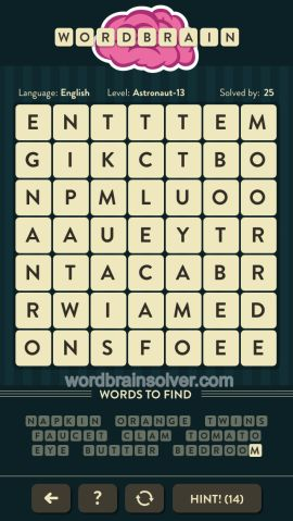 WORDBRAIN-ASTRONAUT-LEVEL-13