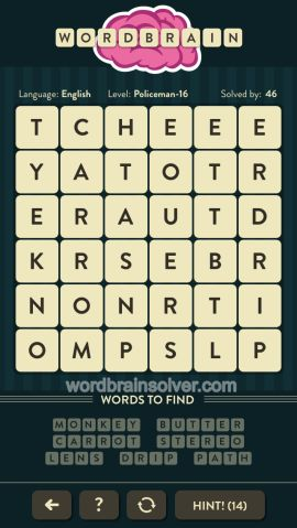 WORDBRAIN-POLICEMAN-LEVEL-16